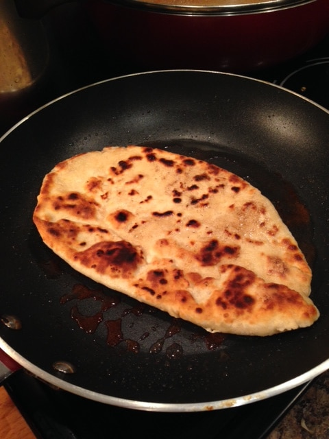 naan cooking
