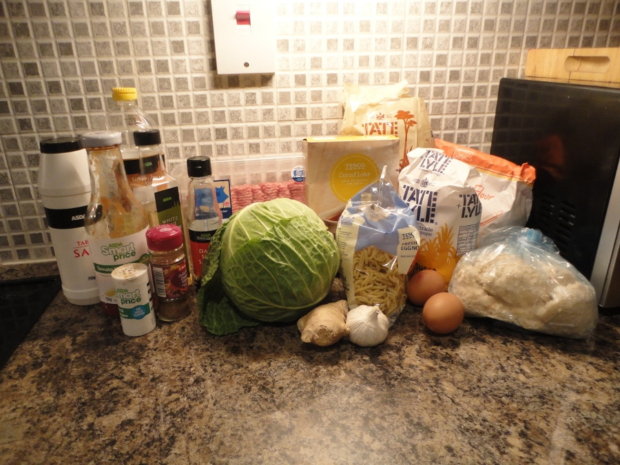 Sweet and sour pork ball ingredients