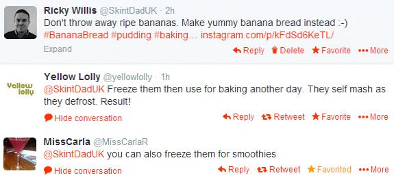 Banana Bread Twitter