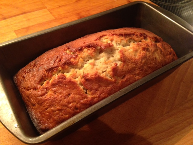 Banana Bread -cooked