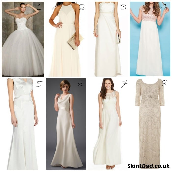 High Street Wedding Dresses on a Budget | The Skint Dad Blog