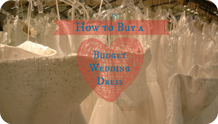 How to buy a budget wedding dress