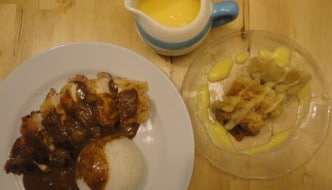 Saturday Night Fakeaway: Katsu Chicken Curry and Apple and Ginger Dim Sum