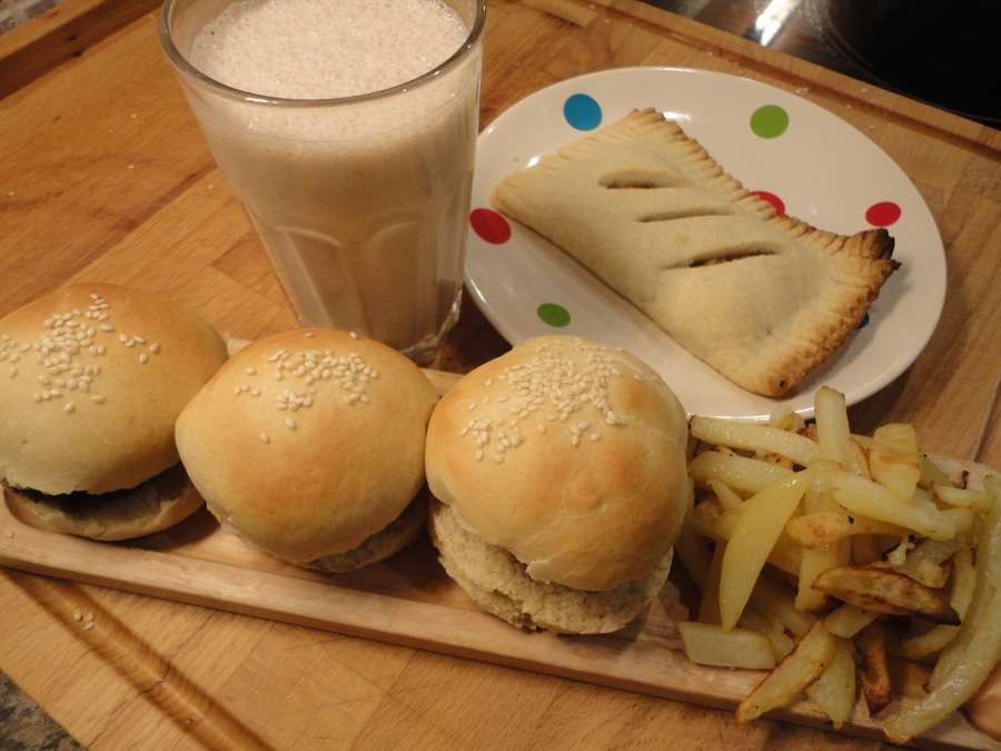slider burger fakeaway