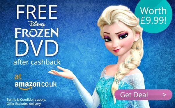 Free frozen DVD