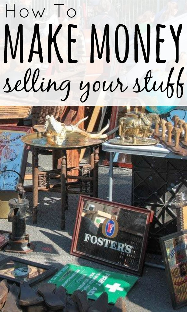 The average household in the UK has £400 worth of unused stuff. You can easily make money selling your unwanted items and declutter at the same time.