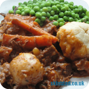 Budget recipe: Beef Stew and Dumplings