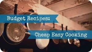 budget recipe sidebar