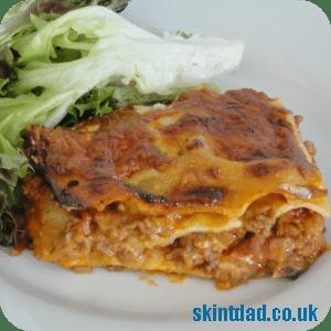Budget recipe: lasagne