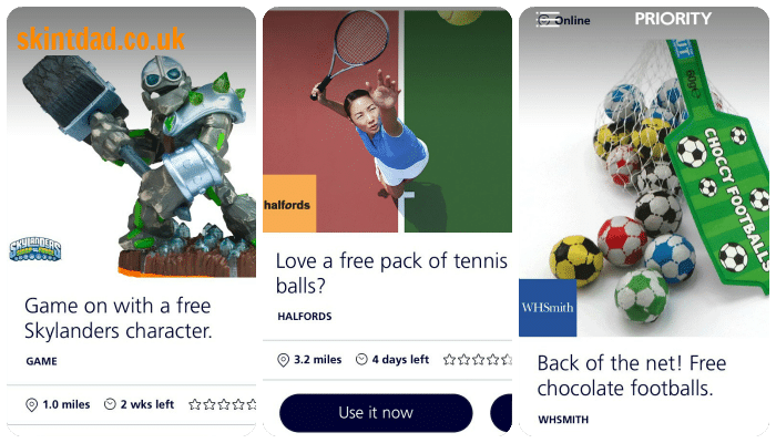 Freebies from o2 - get them while they last