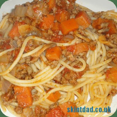 Budget recipe: Spaghetti Bolognese