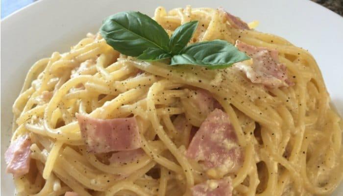 Budget Recipe Spaghetti Carbonara