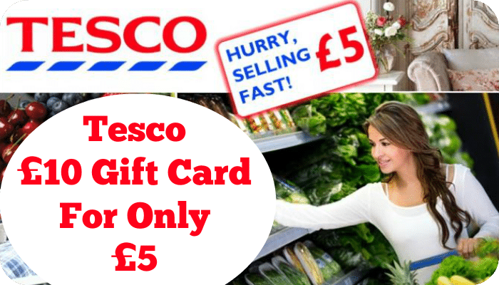 Wedding Gift List Tesco : ... always), you can purchase a Tesco ?10 Gift Card for only ?5! WOW