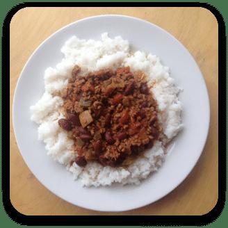 Budget Recipe: Chilli con Carne   The Skint Dad Blog