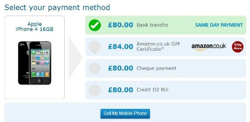 O2 Recycle payment method