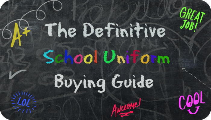 The Definitive School Uniform Buying Guide   The Skint Dad Blog