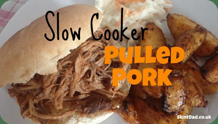 Slow Cooker Pulled Pork Recipe   The Skint Dad Blog