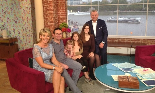 Skint Dad and family on This Morning | The Skint Dad Blog