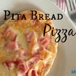 Quick Lunch: Pita Bread Pizza