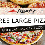 FREE Large Pizza from Pizza Hut