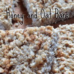 Honey and Oat Bar Recipe
