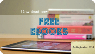 Rather than paying for your eBooks, did you know that you can get a huge selection of them for FREE!! Have a look at the selection I've found this week.