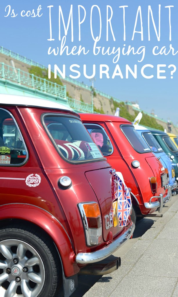 The first thing I look at when buying car insurance is the cost. A survey asked what the most important thing about insurance is and the results shocked me.