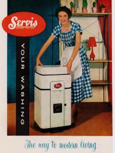 Servis modern living advert