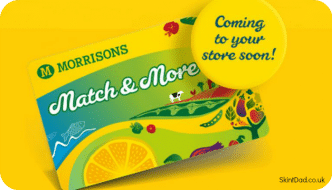 Morrisons Match & More Reward Card Launched