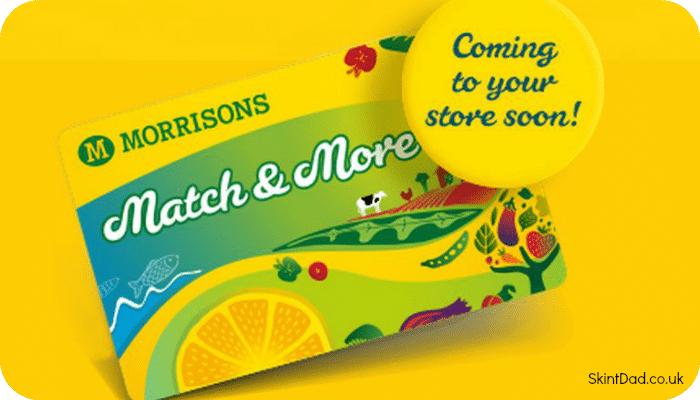 The Morrisons Match and More Reward Card has launched