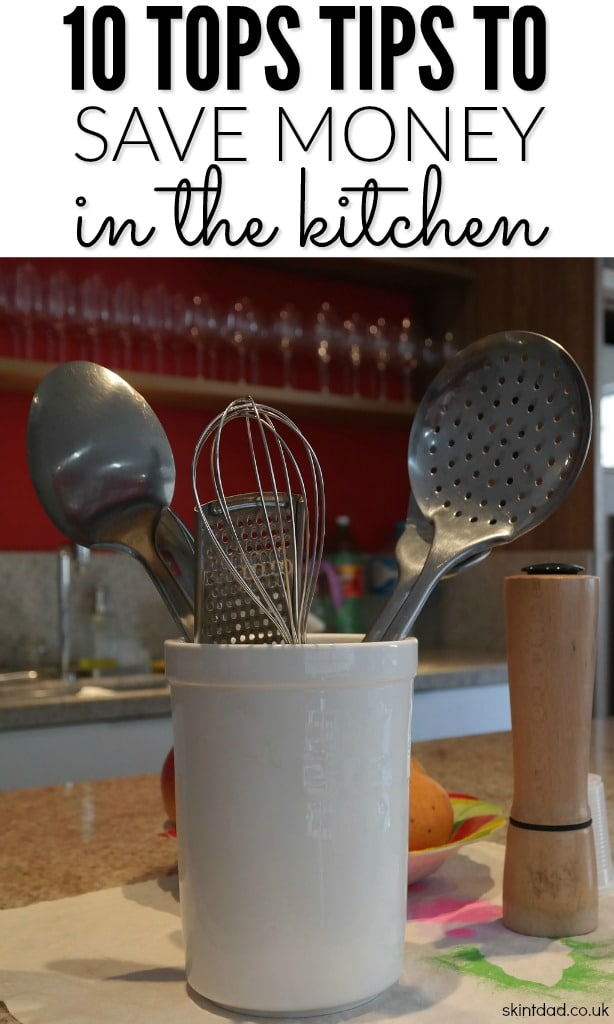 The kitchen is one of the busiest rooms in the house and one that may use the most energy. Have a look at my tips to hep save money in the kitchen.