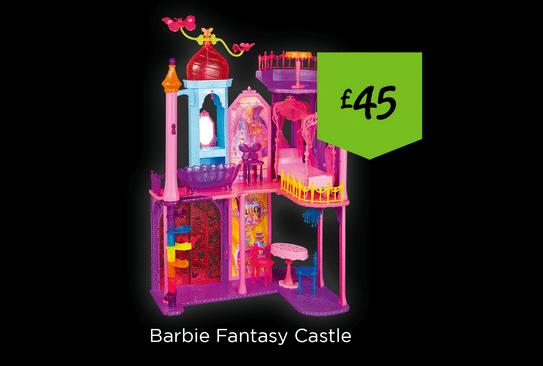 Barbie Fantasy Castle | The Skint Dad Blog