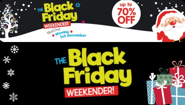 The Black Friday Weekender at The Entertainer