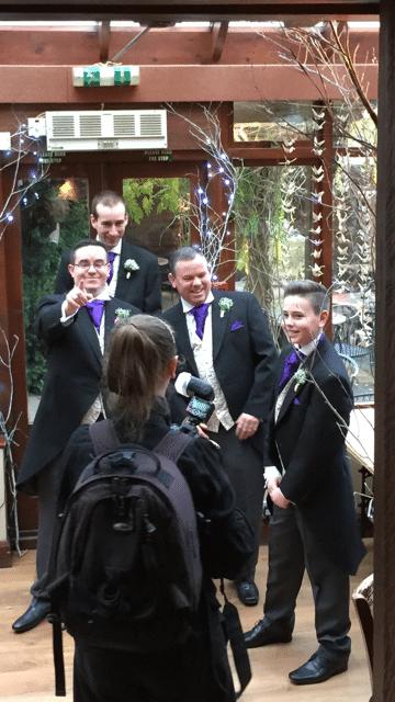 Skint Dad Wedding