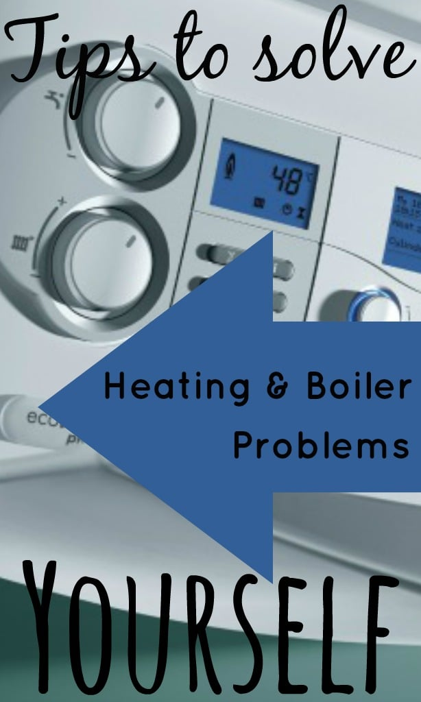 With the cold weather here to stay, our heating and boiler systems work overtime. This can cause problems and breakdowns which can be costly. But there are some problems that you can sort out yourself.