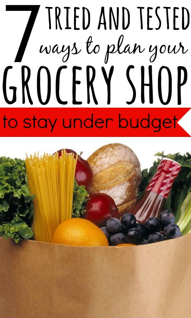 The food bill in my household is our biggest spend after rent. To ensure we keep within our budget we have a tried and tested plan for our supermarket shop.