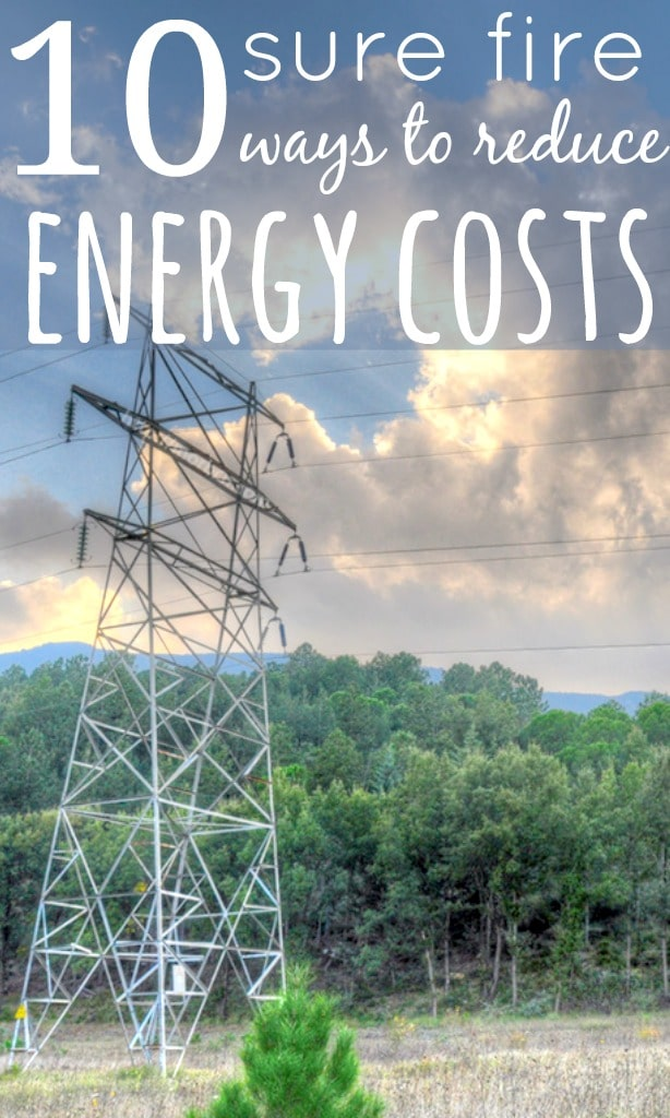 10 Sure Fire Ways To Reduce Energy Costs - With the CMA telling us that we could save £234 per year on our energy bills by switching supplier, I've found 10 ways to reduce energy costs