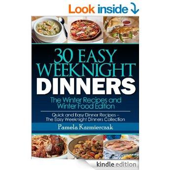 Free eBook - 30 Easy Weeknight Dinners