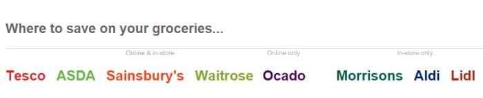 ClickSnap supermarkets