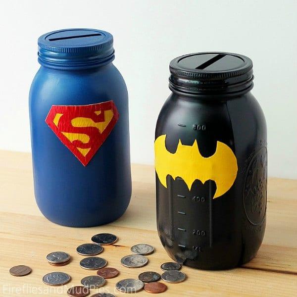 DIY Money Box - Mason Jars