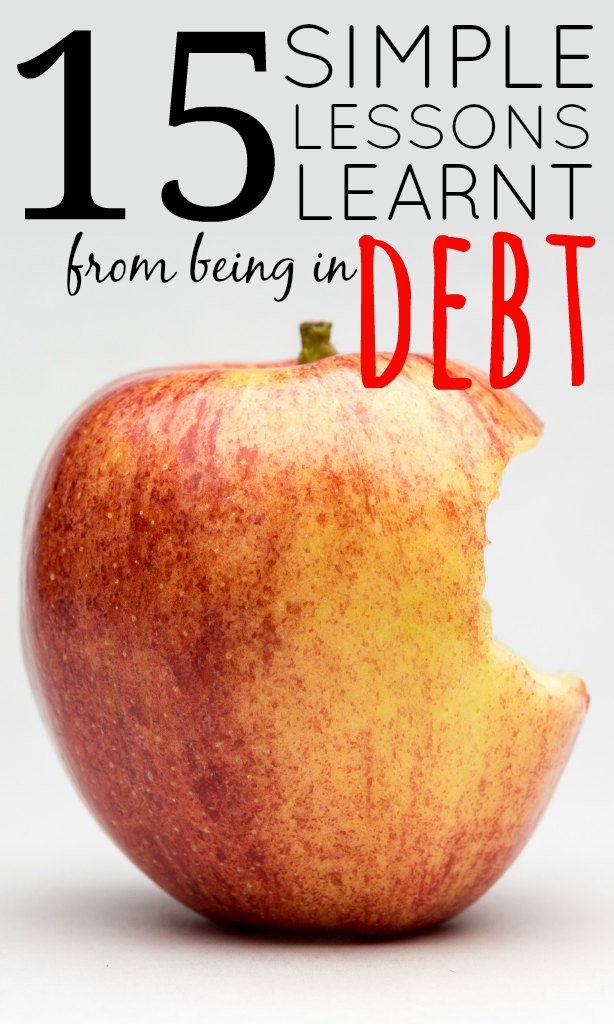 For the last 15 years of my life I have been in debt. It's not always been for such a huge amount though. At first it was small and manageable but then it quickly started to snowball and get really out of control.