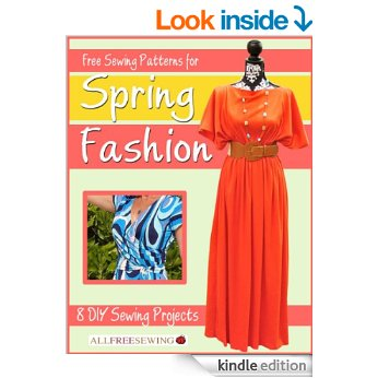 Free eBook: Free Sewing Patterns for Spring Fashion
