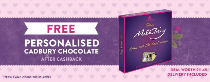 FREE Cadburys Milk Tray