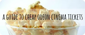 Cheap cinema tickets