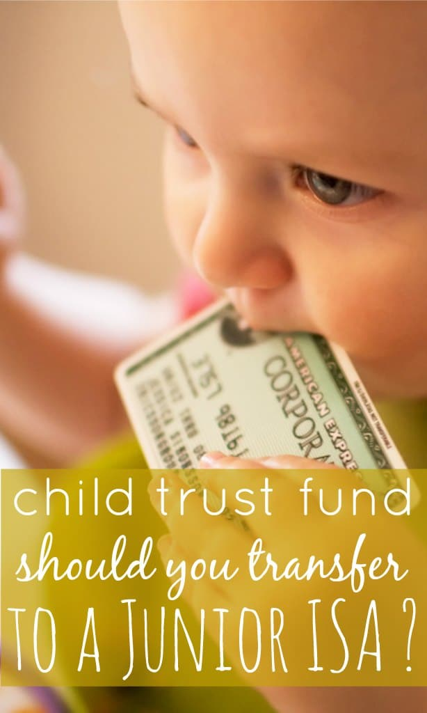 The new tax year sees changes how savings work for children. The Child Trust Fund can now be transferred to a Junior ISA for potentially more interest.
