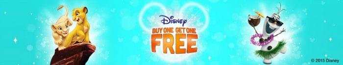 Disney buy one get one free