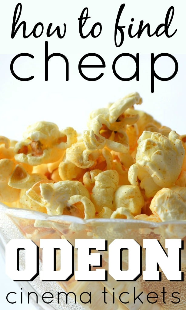 Finding cheap Odeon cinema tickets isn't easy, unless you know where to look. From special offers, deals and promotions, I've found cinema tickets for less.