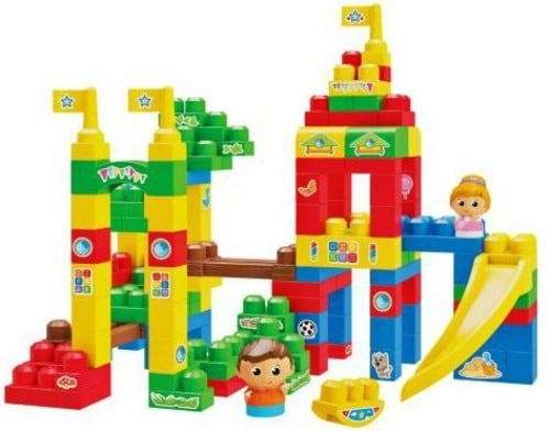 Mega Bloks First Builders Deluxe Playground Building Bag