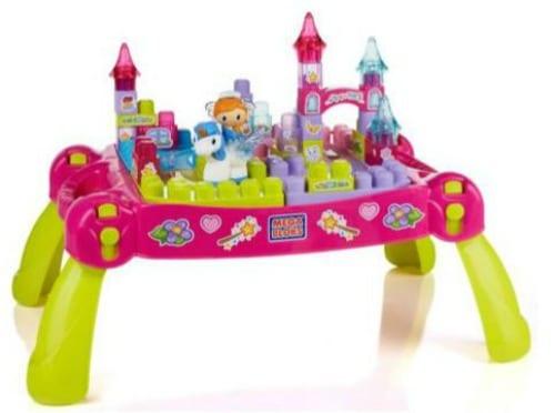 Mega Bloks First Builders Lil Princess Fairytale Table