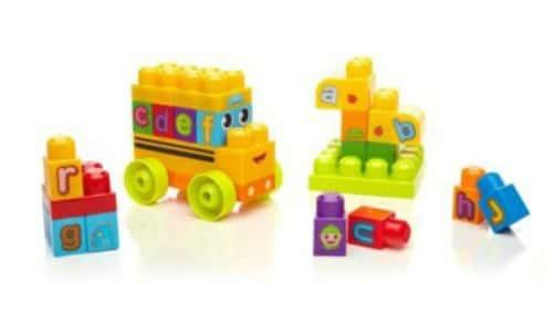 Megabloks First Builders ABC Spell School Bus